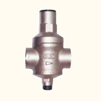 Threaded ends pressure reducing valve
