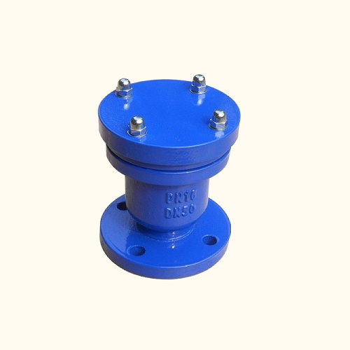 Cast iron air vent valve flanged ends